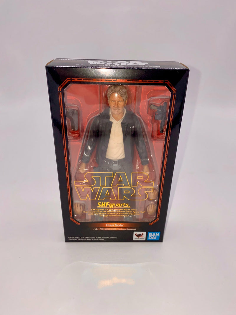 Star Wars (The Force Awakens) Han Solo S.H.Figuarts