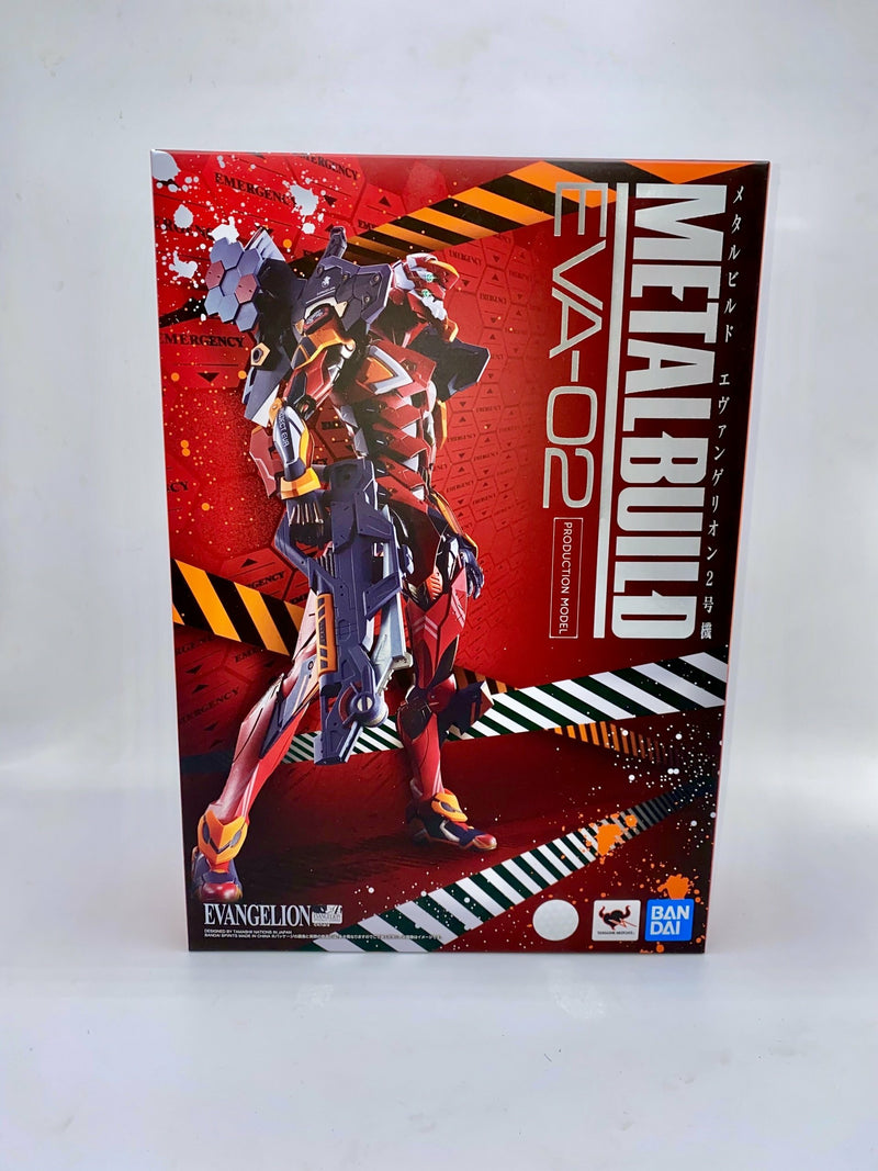Neon Genesis Evangelion Metal Build Action Figure EVA-02 Production Model 22 cm