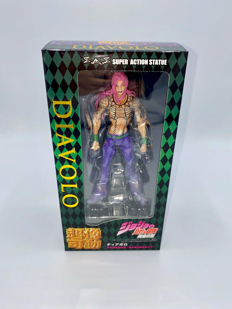JoJo's Bizarre Adventure: Part 5 - Golden Wind: DIAVOLO