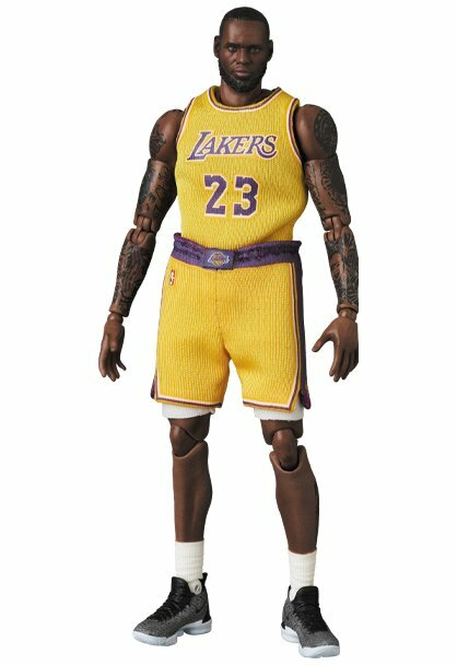 *PRE ORDER* LOS ANGELES LAKERS MAFEX No.127 LEBRON JAMES (ETA FEBRUARY)