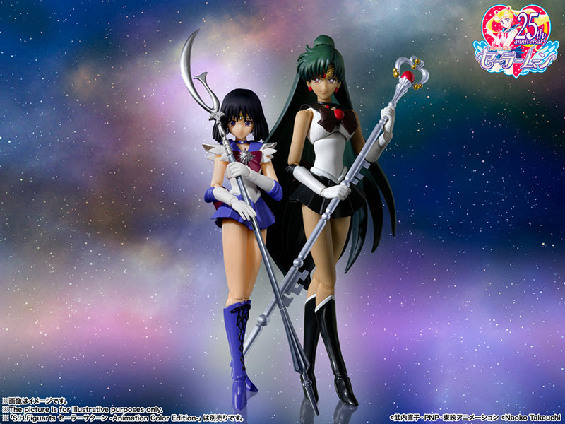 *PRE ORDER* Sailor Moon SH Figuarts Sailor Pluto Animation Color Edition (ETA NOVEMBER)