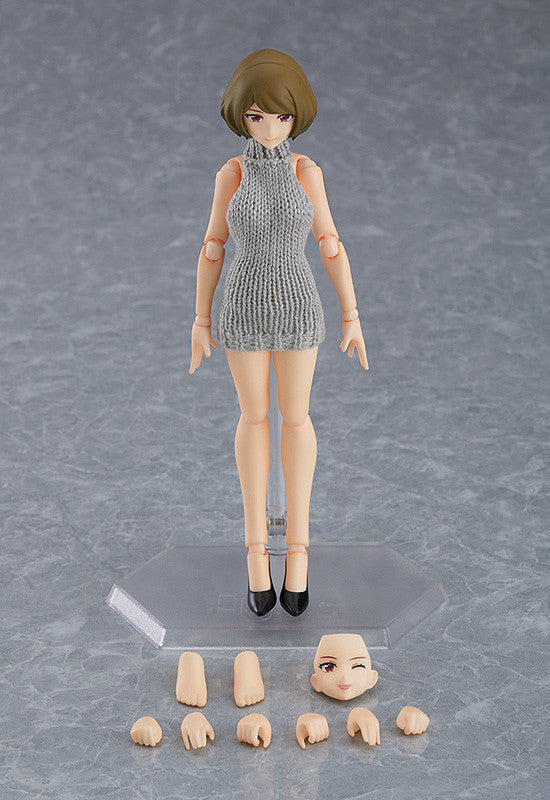 *PRE ORDER* figma Female Body (Chiaki) with Backless Sweater Outfit (ETA JULY)