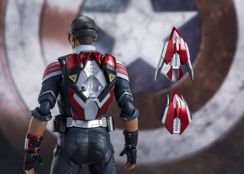 *PRE ORDER* The Falcon and the Winter Soldier SH Figuarts Action Figure Falcon (ETA OCTOBER)
