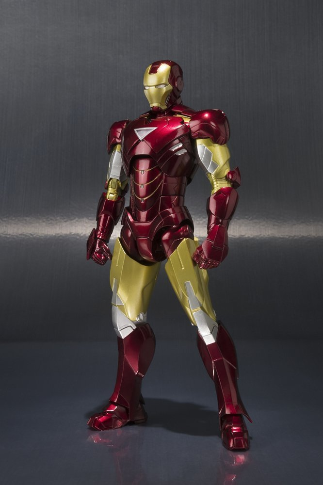 IRON MAN MARK VI + HALL OF ARMOR SET SH FIGUARTS