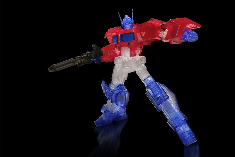 *PRE ORDER* TRANSFORMERS FLMAE TOYS OPTIMUS PRIME CLEAR MODEL KIT (ETA JANUARY)