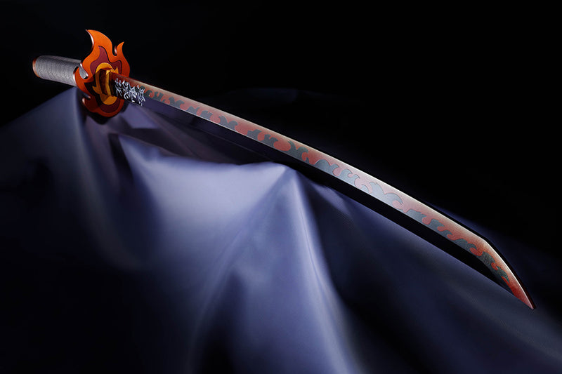 *PRE ORDER* Demon Slayer: Kimetsu no Yaiba Proplica Replica 1/1 Nichirin Sword - Kyojuro Rengoku (ETA SEPTEMBER)
