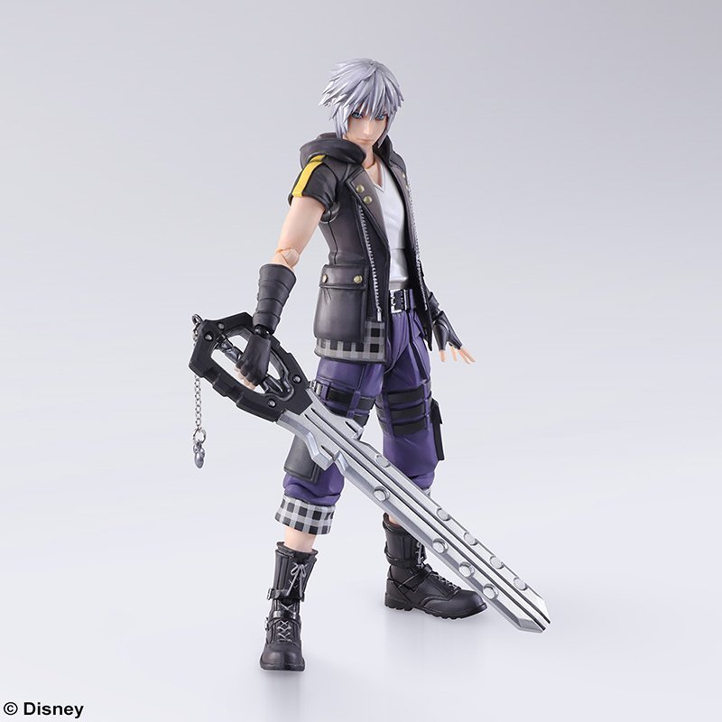 KINGDOM HEARTS III BRING ARTS- RIKU