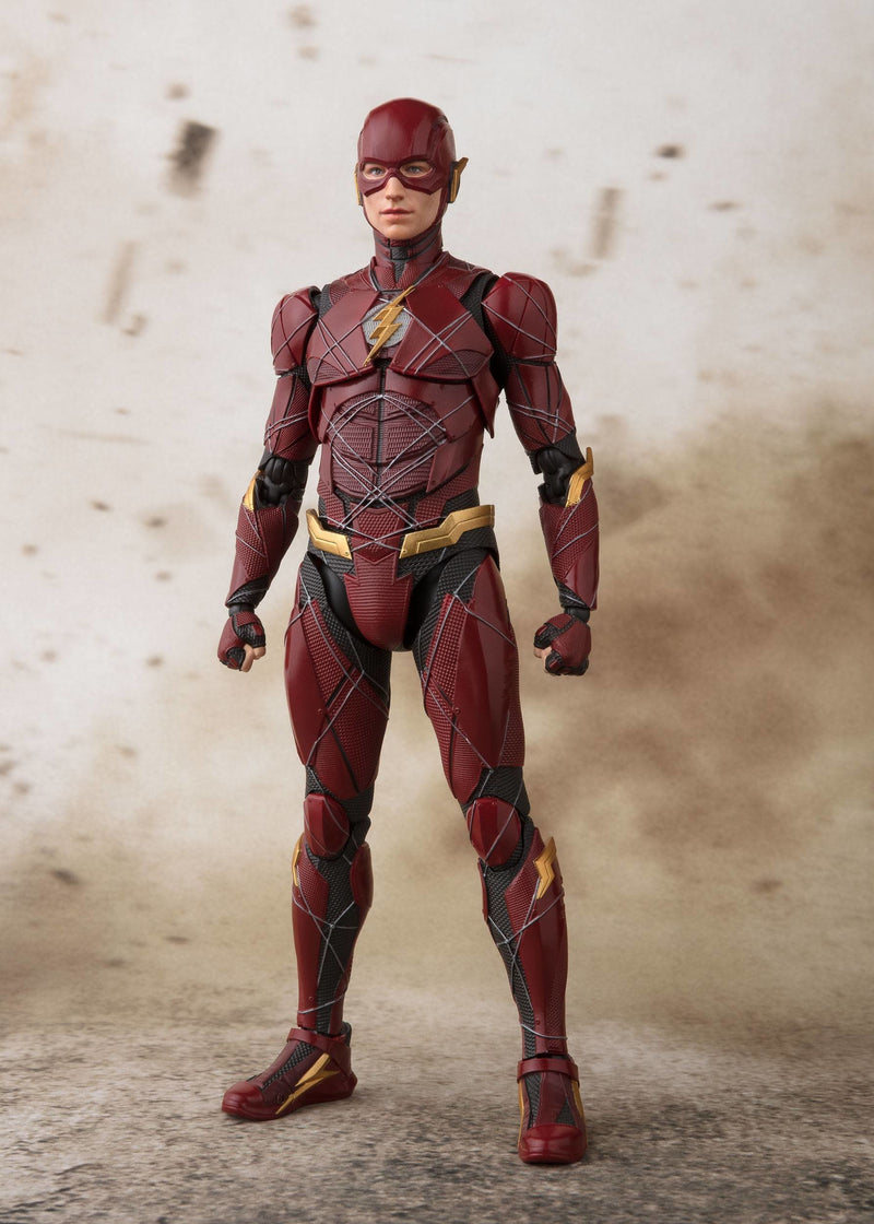 Justice League S.H. Figuarts Flash Tamashii Web Exclusive 15 cm