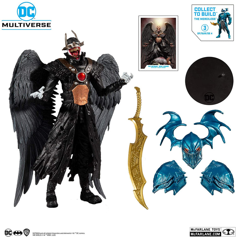 *PRE ORDER* McFarlane Toys DC Multiverse Batman Who Laughs with Sky Tyrant Wings with Build-A Parts for 'The Merciless' Figure (ETA NOVEMBER)