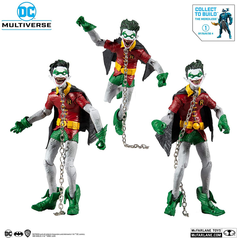 McFarlane Toys DC Multiverse Robin Earth - 22 with Build-A Parts for 'The Merciless' Figure