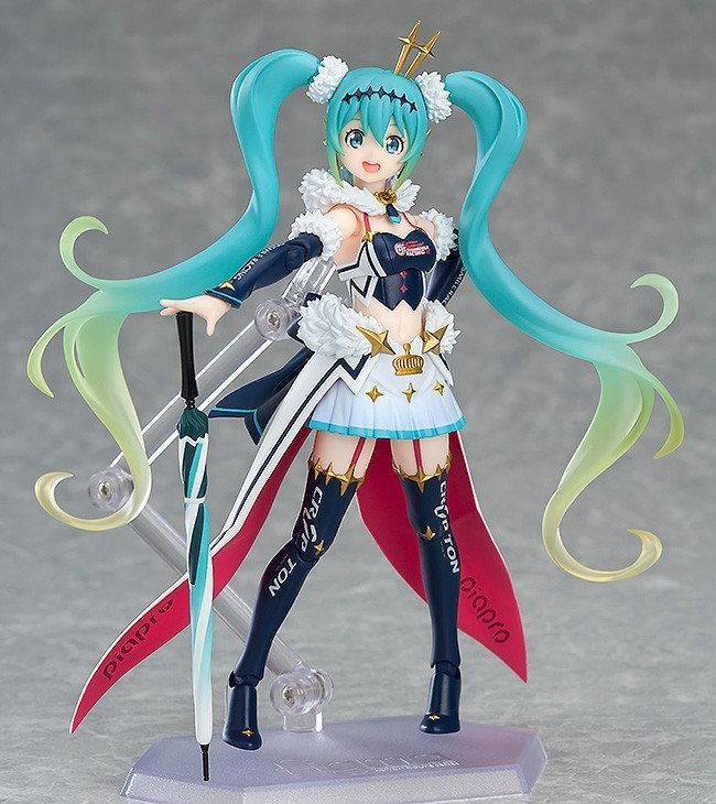 *BACK ORDER* Hatsune Miku GT Project Figma Action Figure Racing Miku 2018 Ver. 14 cm