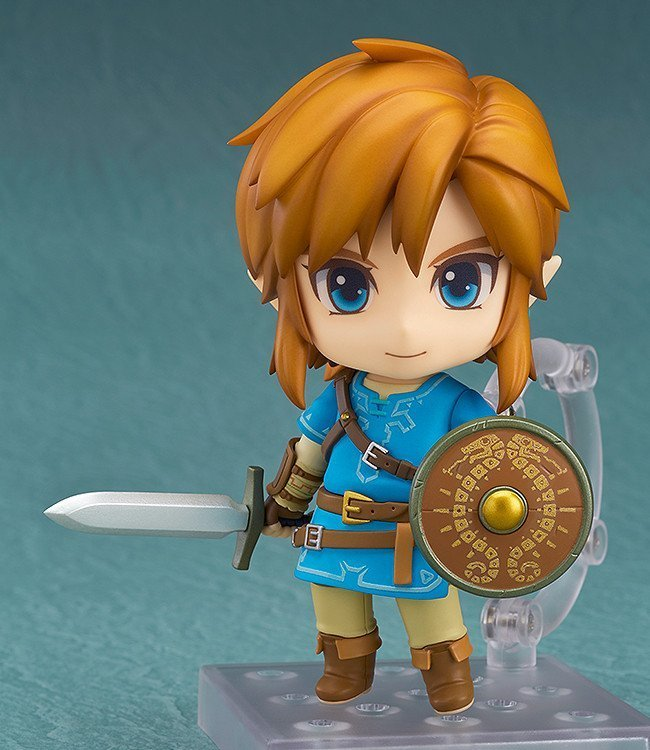 *PRE ORDER* The Legend of Zelda Breath of the Wild Nendoroid Link 10 cm