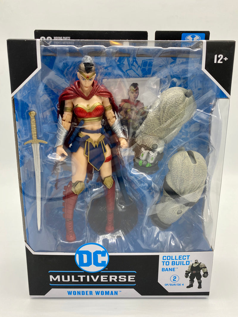 McFarlane Toys DC Multiverse Wonder Woman (Last Knight on Earth) Build-A Parts for 'Bane' Figure