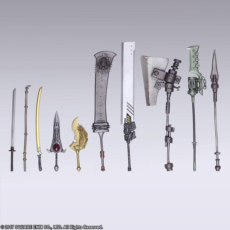 *BACK ORDER* NieR Automata BRING ARTS - Weapon Collection 10-Pack