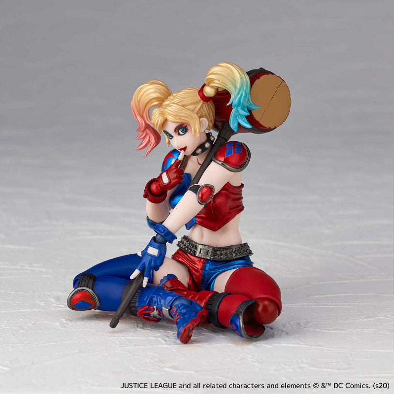 Amazing Yamaguchi NO.015EX HARLEY QUINN New Color.ver Revoltech