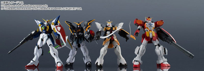 *PRE ORDER* Mobile Suit Gundam Wing Gundam Universe Action Figure XXXG-01H Gundam Heavyarms (ETA NOVEMBER)