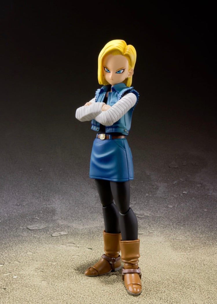 Dragon Ball Z ANDROID 18 S.H.FIGUARTS - Event Exclusive Color Edition
