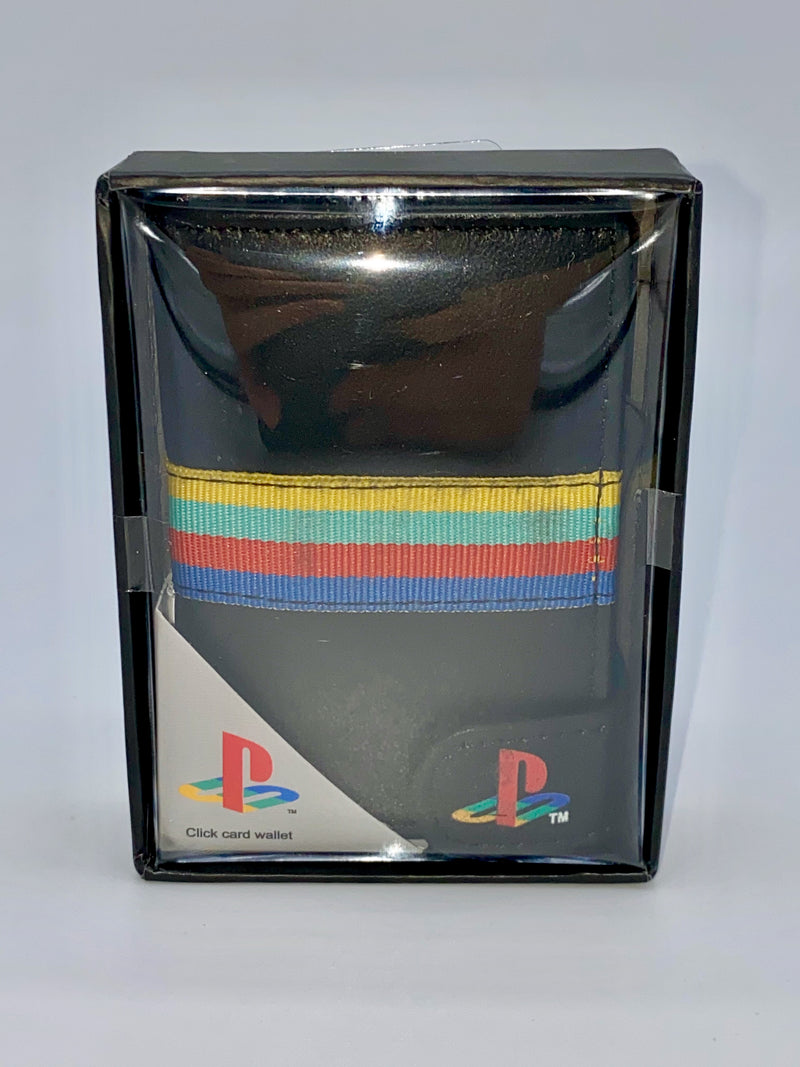 Sony Playstation Click Wallet Playstation Logo