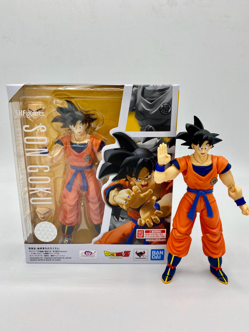 DRAGONBALL Z SON GOKU EARTH S.H.FIGUARTS