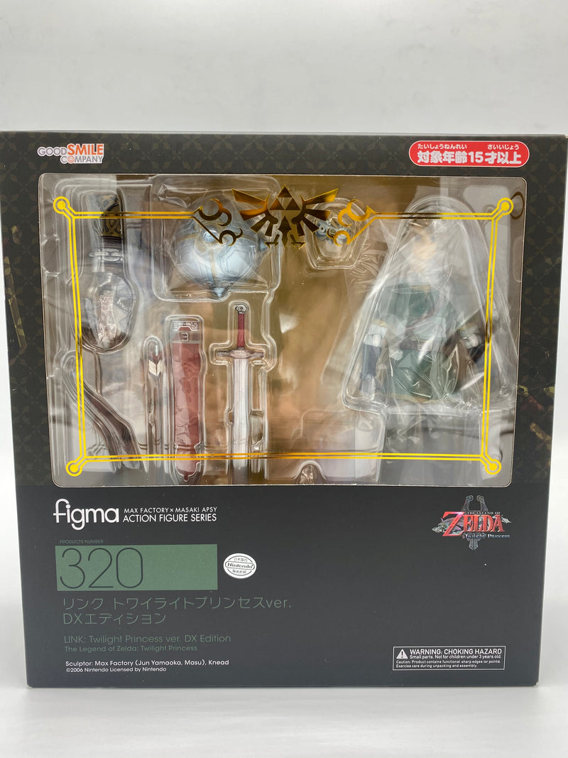Zelda: Twilight Princess Figma Link DX Edition
