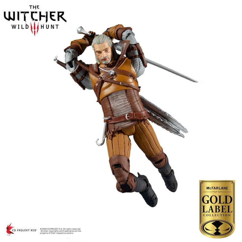 *PRE ORDER* McFarlane THE WITCHER - GERALT OF RIVIA GOLD LABEL SERIES (ETA DECEMBER)