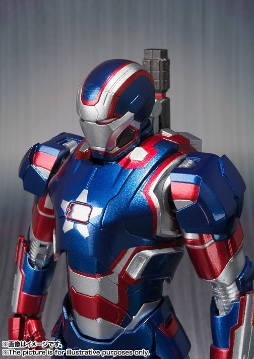 Iron Man SH Figuarts Iron Patriot