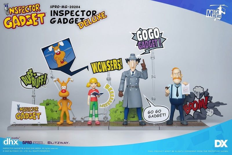 *PRE ORDER* INSPECTOR GADGET – DX SET 1/12 Action Figures (ETA JANUARY)