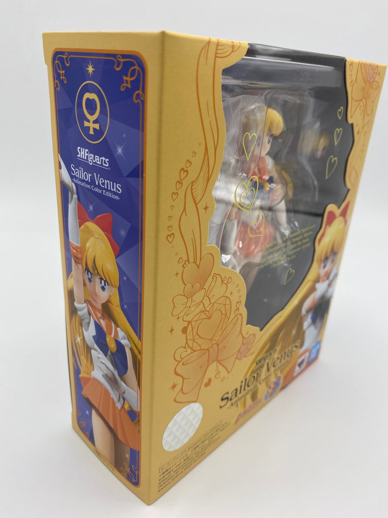 Sailor Moon SH Figuarts Sailor Venus Animation Color Edition