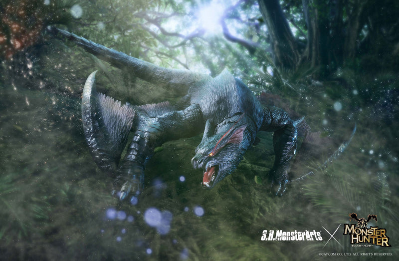 *PRE ORDER* Monster Hunter SH MonsterArts Nargacuga (ETA NOVEMBER)