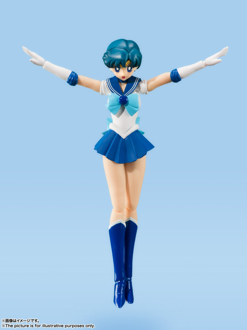 *PRE ORDER* Sailor Moon SH Figuarts Sailor Mercury Animation Color Edition (ETA DECEMBER)