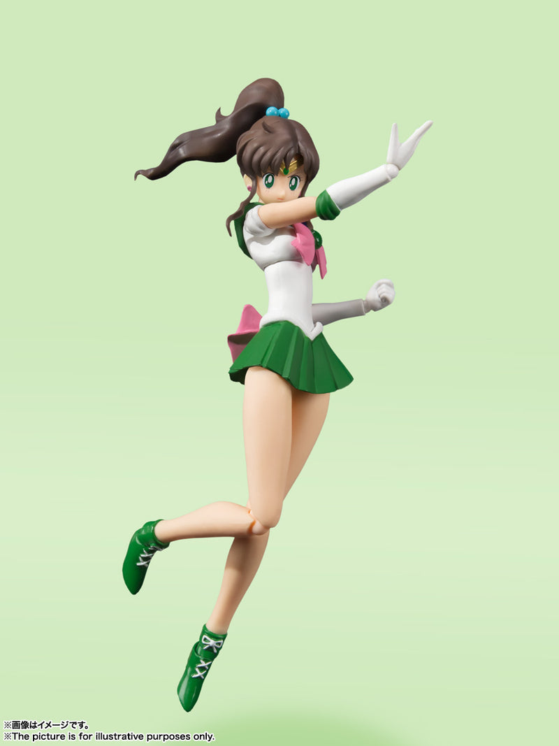 *PRE ORDER* Sailor Moon SH Figuarts Sailor Jupiter Animation Color Edition (ETA DECEMBER)