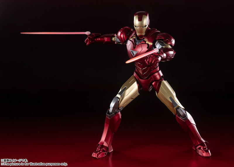 *PRE ORDER* Avengers Assemble SH Figuarts Iron Man Mark 6 - Battle of New York Edition (ETA JUNE)