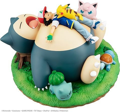 *PRE ORDER* Pokemon - Goodnight Snorlax G.E.M.EX Series PVC Statue (ETA FEBRUARY)