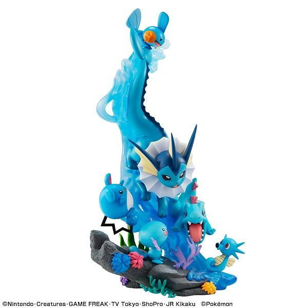 *PRE ORDER* Pokemon - Water Type Gathering! G.E.M.EX Series PVC Statue (ETA JULY)