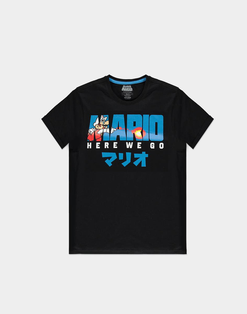 NINTENDO - SUPER MARIO FIRE MARIO MEN'S T-SHIRT