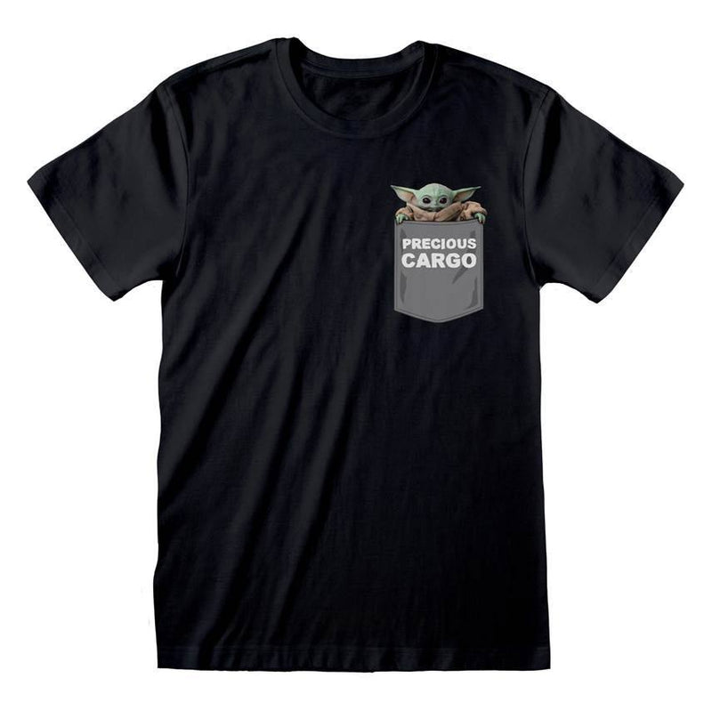 Star Wars The Mandalorian T-Shirt Precious Cargo Pocket