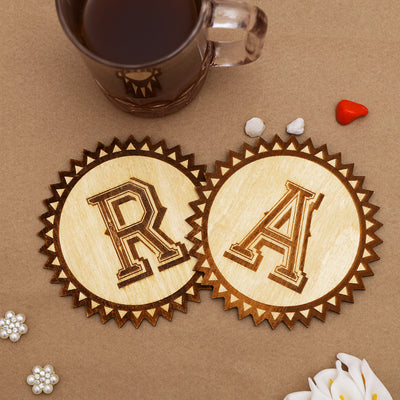 Initials Letters-Coasters - THD-The Happy Dreams