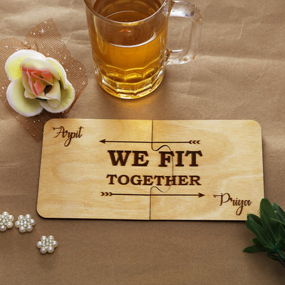 We Fit Together Coasters - THD-The Happy Dreams