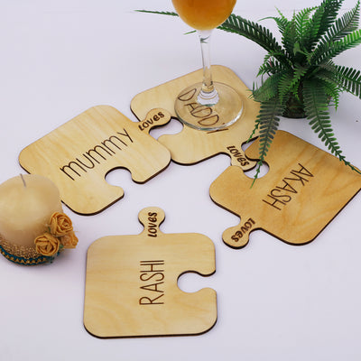 Family Connection -Personalized Coasters - THD-The Happy Dreams