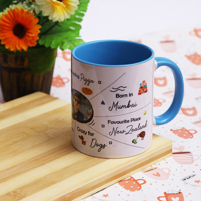 Personalized Mug - THD-The Happy Dreams