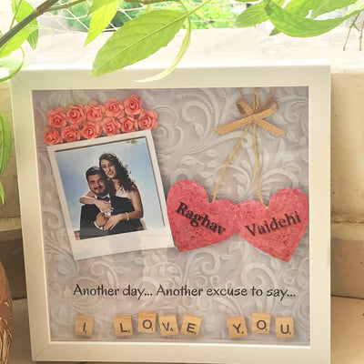 I Love You Personalized Frame - THD-The Happy Dreams