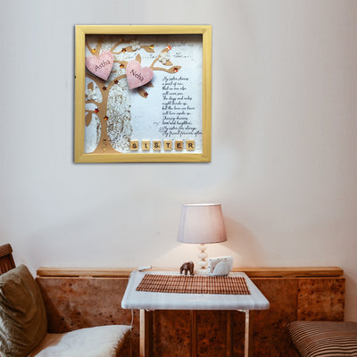 Sister Personalized Photo Frame - THD-The Happy Dreams
