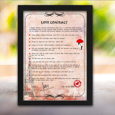 Love Contract for Her - THD-The Happy Dreams