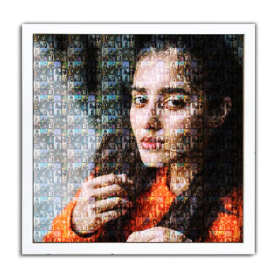 Personalized Mosaic Art Photo Frame - THD-The Happy Dreams