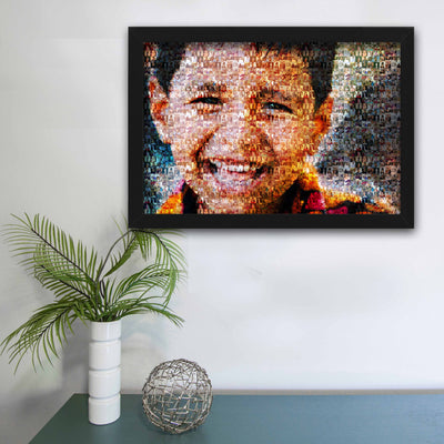 Mosaic Art Frame  with Extra Customizations - THD-The Happy Dreams