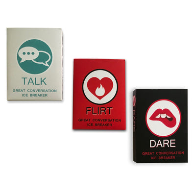 Truth,Dare & Flirt Cards for couples/friends - THD-The Happy Dreams