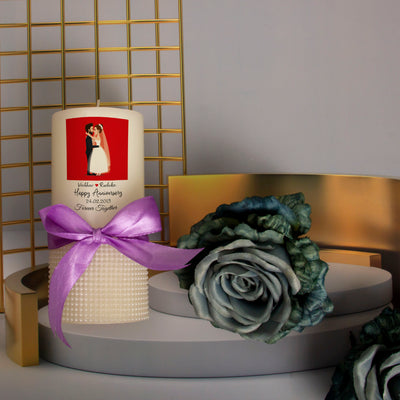 Personalised Candle- Together Forever - THD-The Happy Dreams