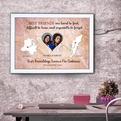 Best Friends Photo Frame - THD-The Happy Dreams