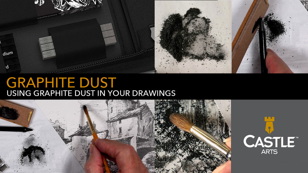 How to Draw Using Graphite Dust