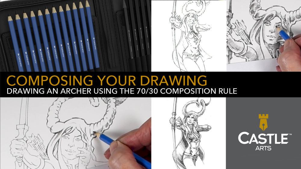 How to Draw | Composing Your Drawing Using Graphite Pencils
